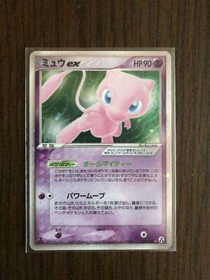 1st Edition Mew ex holo Mirage Forest Legend Maker Pokemon Card Japanese from JP