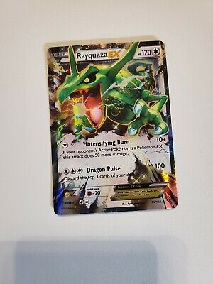 Pokemon Rayquaza EX 75/108 Roaring Skies Near Mint