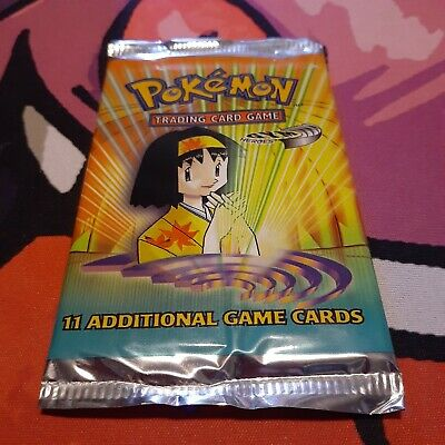 Pokemon - WoTC - Gym Heroes Booster Pack - Erika Packart - Factory Sealed