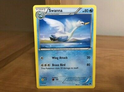 Pokemon Card Swanna 37/122 BreakPoint in Good Condition!