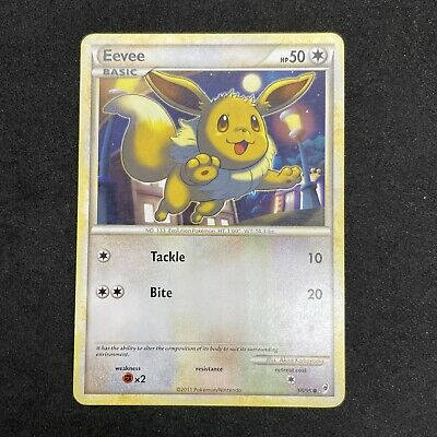 Eevee 56/95 Common Call of Legends Pokemon Card A
