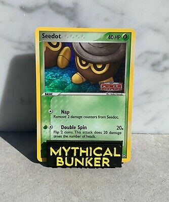 Pokemon TCG - Seedot 60/108 Holo Stamped - EX Power Keepers - LP