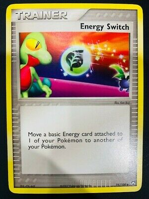 Pokemon Ex Power Keepers Trainer Energy Switch 73/108 Near Mint