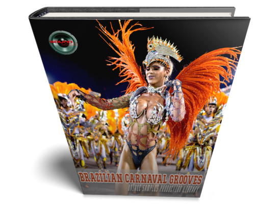 Brazilian Carnival Grooves - Large Authentic WAVE samples/loops studio Library