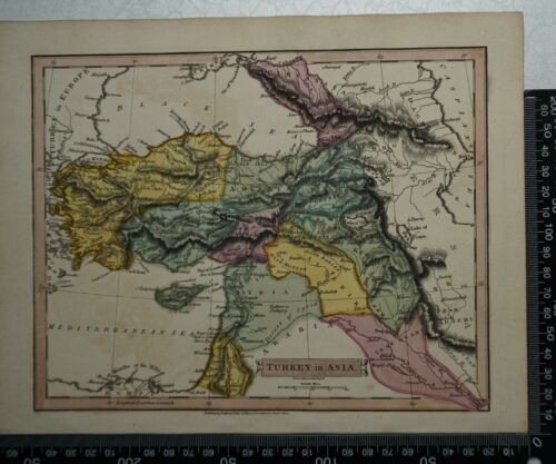 1814 J Russell - Map of Turkey in Asia