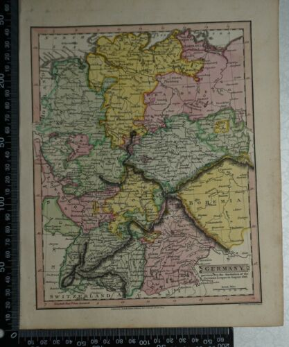 1814 J Russell - Map of Germany