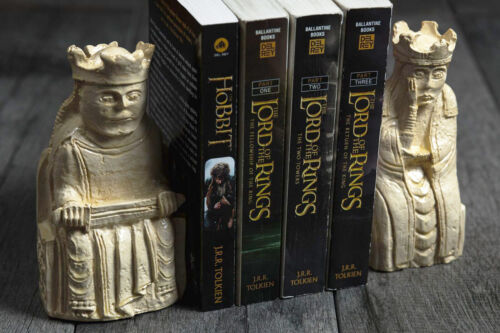 Medieval Bookends (Isle Of Lewis Chessmen) SALE was 69.00