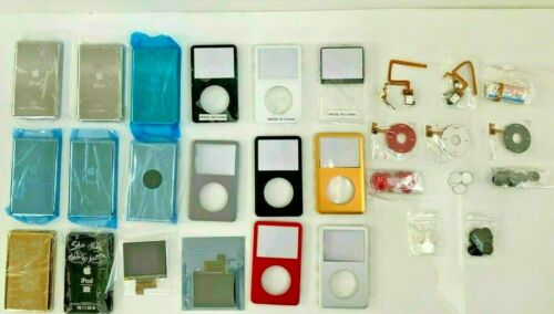 Apple iPod Classic Replacement Mod Parts Clickwheel Battery Faceplate Back LCD