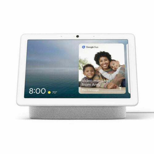 Google Nest Hub Max Charcoal - Connect with Google Nest - Digital Picture Frame