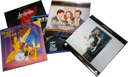 Lot of 5 Laserdiscs - 135+ Titles to Choose From!
