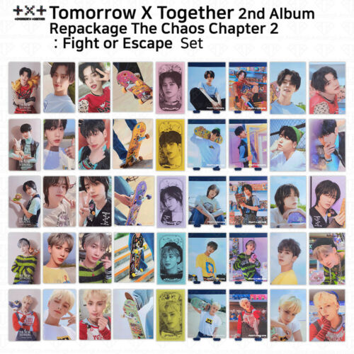 TXT 2nd Album Repackage The Chaos Chapter 2 Fight Or Escape Photocard Postcard