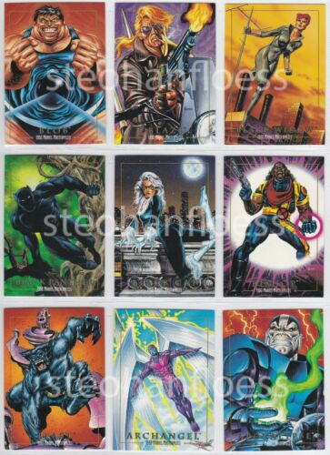 1992 SkyBox Marvel Masterpieces Joe Jusko You Pick the Card Finish Your Set
