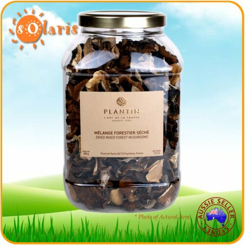 Authentic French PLANTIN Dried Mixed Forest Mushrooms 500g Bolets Oyster Fungus