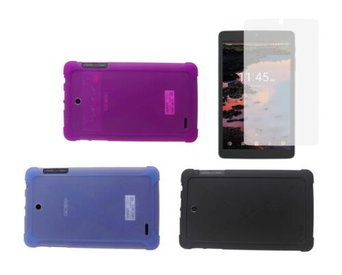 Screen Protector + Protective TPU Case for for T-Mobile Alcatel A30 8-inch 9024W