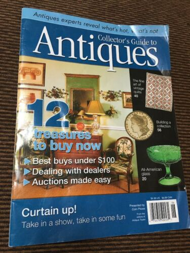 Collector's Guide To Antiques Published By Antique Traders 2004 Magazine