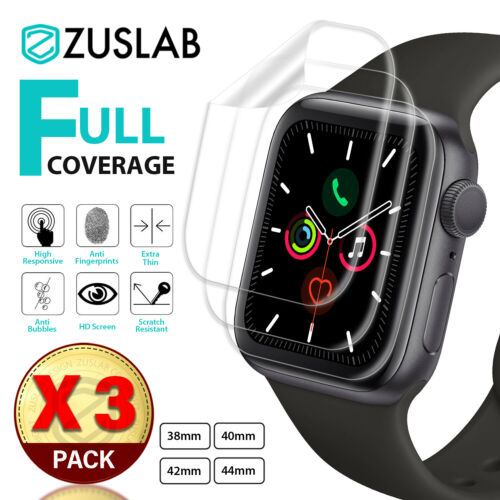 For Apple Watch iWatch Series 2 3 4 5 6 SE 38/40/42/44mm ZUSLAB Screen Protector