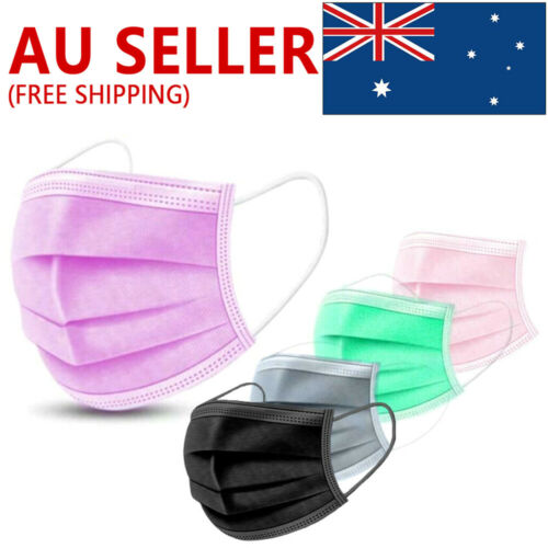 50PCS Face Mask High Protective 3 Layer Mouth Masks Disposable mask Surgical N95