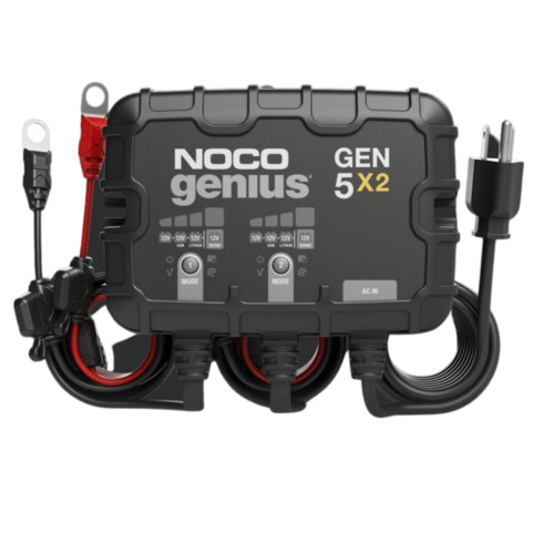NOCO GEN5X2 12V 2 Bank - 10 Amp On-Board Battery Charger