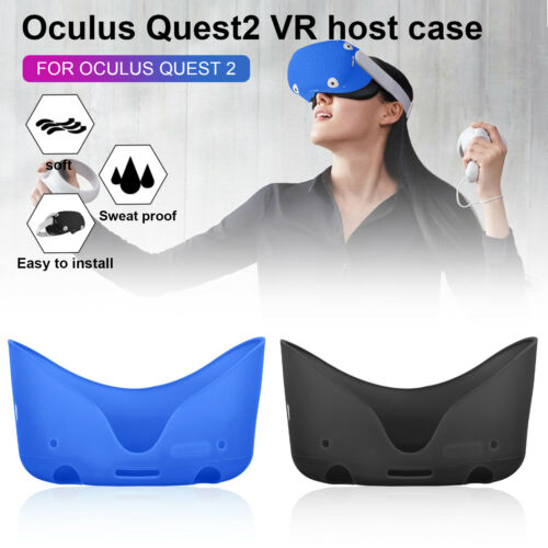 Silicone Front Face Protective Cover Case for Oculus Quest 2 VR Glasses Headset
