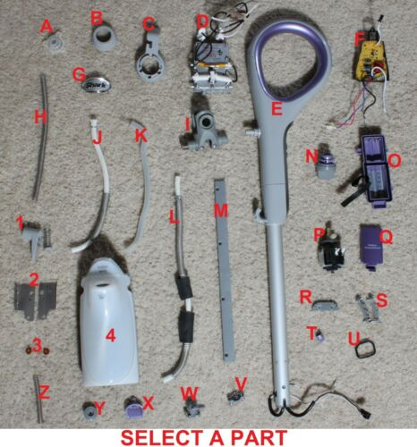 """SHARK STEAM MOP SK460A """"REPLACEMENT PARTS""""- SELECT A PART"""