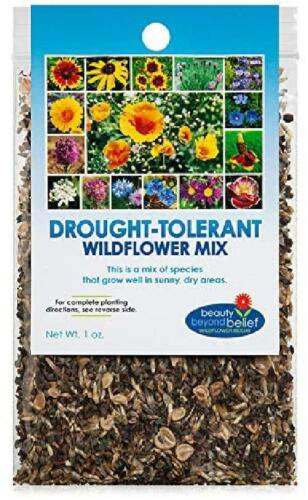 Drought Resistant Tolerant Wildflower Seeds Open-Pollinated Bulk Flower Seed Mix