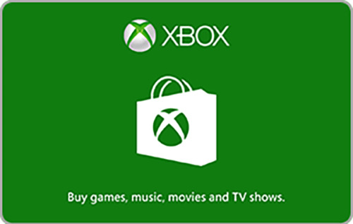 xBox Gift Codes $15 through $100 - Email Delivery