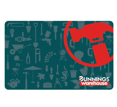 Bunnings Gift Card $20, $50, $100, $250 - Email Delivery