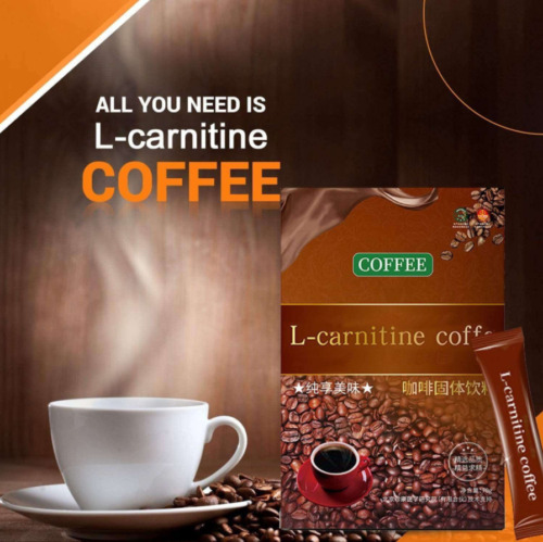 L-Carnitine Instant Coffee For Weight Loss, Slimming Coffee, 1 Box (7 Packs)