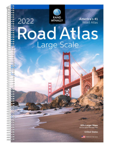 Rand McNally 2022 Large Scale Road Atlas