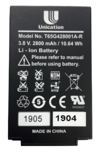 Unication G2 / G3 / G4 / G5 Lithium Ion (Li-Ion) 2800mAh OEM Replacement Battery