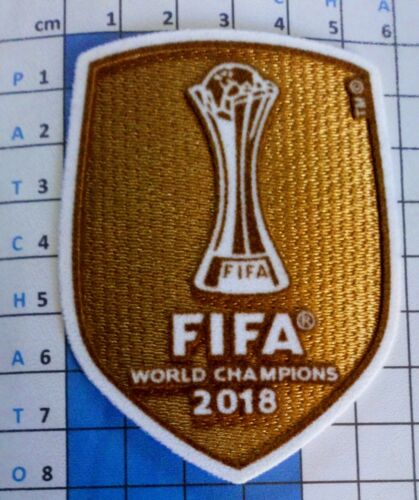 Patch badge foot World champions club 2018 maillots Réal Madrid (Espagne) 2019