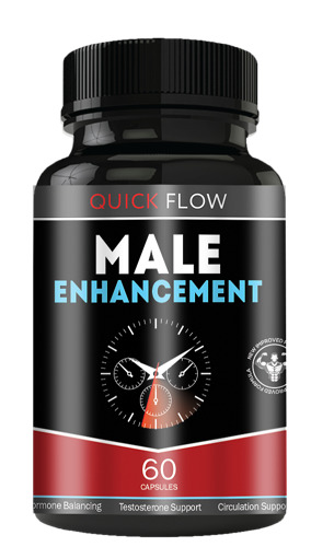 BRAND NEW QUICK FLOW Male Enhancement Support All Natural Increase Stamina 60ct