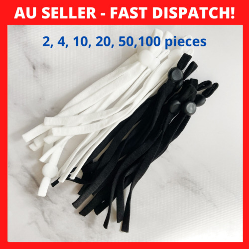 Adjustable Elastic Cord for DIY Face Mask, Sewing Elastic Band Mask Accessories