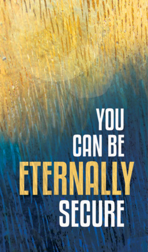 """Gospel Tracts """"You Can Be Eternally Secure"""" (pack of 20) FREE SHIPPING"""