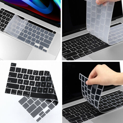 Silicone Keyboard Skin Thin Protector for 2020 Macbook Pro 13 A2338 M1 Air A2337