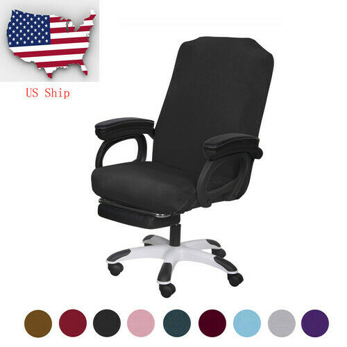 Stretch Office Chair Cover Universal Computer Rotate Seat Slipcover Protector