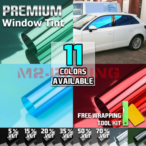 """20""""x10FT Uncut Window Tinting Film Car Home Office Glass Privacy Security Roll"""
