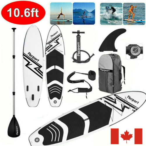 10.6FT Inflatable Stand Up Paddle Board SUP Paddleboard Accessories