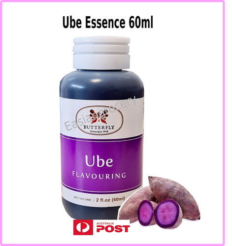 Ube Flavouring Butterfly Food Essence 60mL - Expiry date 08/23