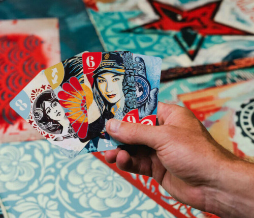 SHEPARD FAIREY x UNO by Mattel Creations Playing Cards Obey Giant 🔥SoldOut🔥HOT
