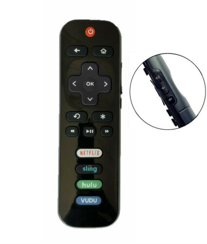 New Replaced Remote FIT for Roku TV™ TCL/Sanyo/ Element/ Haier/ RCA/ LG/ Philips