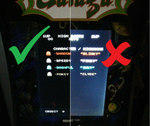 Brightness Adjustment for EARLY Arcade1Up Cabinets - DIMMING, CONTRAST, FIX BLACKS