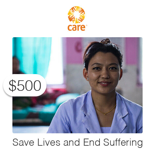 $500 Charitable Donation For: Save Lives and End Suffering