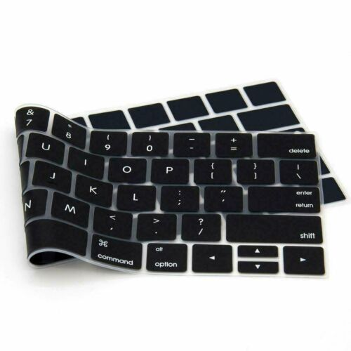 """Silicone Keyboard Cover Skin for MacBook Air Pro 13"""" 15"""" 16"""" (2016 thru 2020)"""