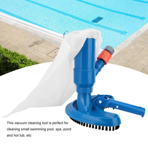 New Swimming Pool & Spa Pond Fountain Vacuum Brush Cleaner Cleaning Tool Kit