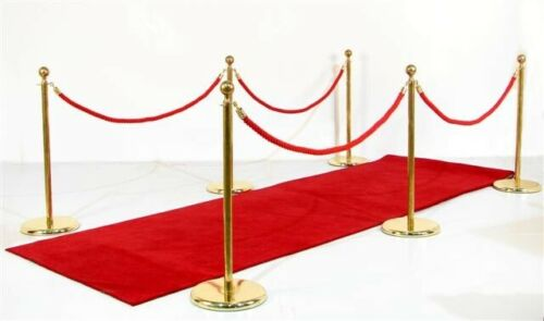 High Class VIP Quality Red Carpet Aisle Runner for Events, Wedding and Ceremony