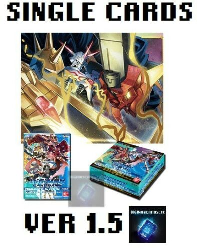 Digimon Card Game 2020 Special Booster Ver 1.5 Single Cards BT01-03 ENGLISH TCG