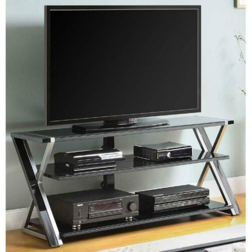 TV Stand For 65 Inch TV Modern Entertainment Center Console Table With Storage
