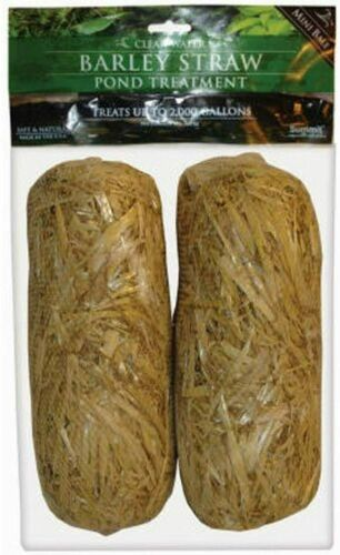 Summit 130 Clear-water Barley Straw Bales, 2-Pack Brown