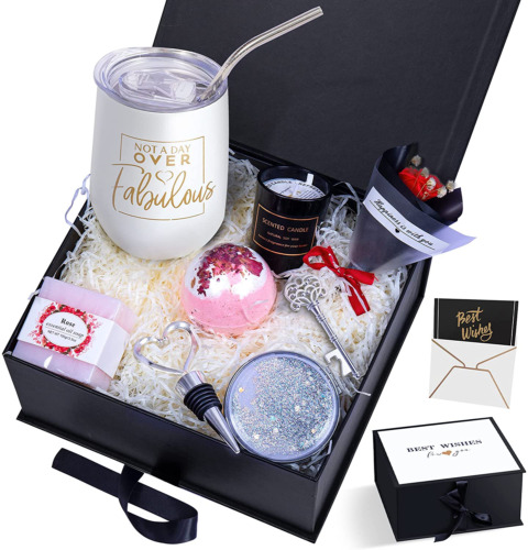 Birthday Gifts For Women Spa Gifts Box Basket For Women Wife Mom Sister Girlfrie